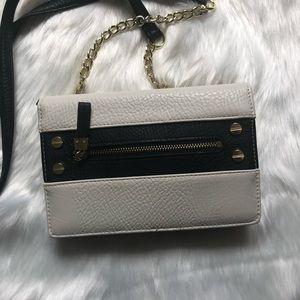Olivia + Joy Bags - OLIVIA + JOY Ivory/Black Clutch/Wallet